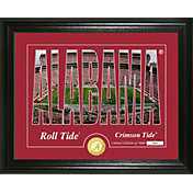 Highland Mint Alabama Crimson Tide Silhouette Photo Mint