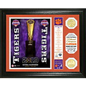 Highland Mint 2018 National Champions Clemson Tigers Banner Bronze Coin Photo Mint