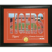 Highland Mint Clemson Tigers Silhouette Photo Mint