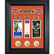 Highland Mint 2018 National Champions Clemson Tigers Deluxe Gold Coin and Ticket Collection
