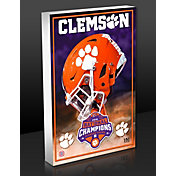 Highland Mint 2018 National Champions Clemson Tigers Art Block