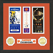 Highland Mint 2018 National Champions Clemson Tigers Ticket Collection