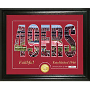 Highland Mint San Francisco 49ers Silhouette Photo Mint