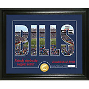 Highland Mint Buffalo Bills Silhouette Photo Mint