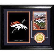 Highland Mint Denver Broncos Desktop Photo Mint
