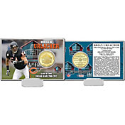 Highland Mint Chicago Bears Brian Urlacher 2018 Pro Football Hall of Fame Induction Bronze Coin Card