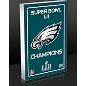 "Highland Mint Philadelphia Eagles Super Bowl 52 Champions 'Eagle"" Commemorative 3D Art Block"