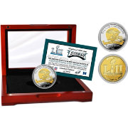 Highland Mint Super Bowl LII Champions Philadelphia Eagles Two-Tone Mint Coin