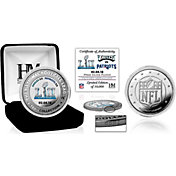 Highland Mint Super Bowl LII Champions Philadelphia Eagles Victory Silver Color Coin