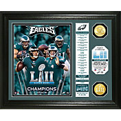 Highland Mint Super Bowl LII Champions Philadelphia Eagles Banner Bronze Coin Photo Mint
