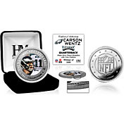 Highland Mint Philadelphia Eagles Carson Wentz Silver Color Coin