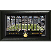 "Highland Mint Jacksonville Jaguars ""Silhouette"" Panoramic Bronze Coin Photo Mint"