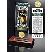 Highland Mint Green Bay Packers Jerry Kramer 2018 Pro Football Hall of Fame Induction Ticket & Coin Acrylic Desktop Display