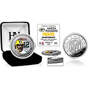 Highland Mint Green Bay Packers Aaron Rodgers Silver Color Coin