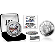 Highland Mint New England Patriots Tom Brady Silver Color Coin