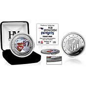 Highland Mint New England Patriots Rob Gronkowski Silver Color Coin