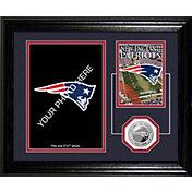 Highland Mint New England Patriots Desktop Photo Mint