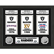 Highland Mint Oakland Raiders Super Bowl Banner Collection Photo Mint