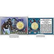 Highland Mint Baltimore Ravens Ray Lewis 2018 Pro Football Hall of Fame Induction Bronze Coin Card
