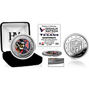 Highland Mint Houston Texans Deshaun Watson Silver Color Coin