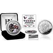Highland Mint Houston Texans J. J. Watt Silver Color Coin