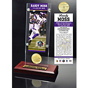 Highland Mint Minnesota Vikings Randy Moss 2018 Pro Football Hall of Fame Induction Ticket & Coin Acrylic Desktop Display