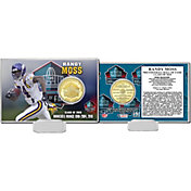 Highland Mint Minnesota Vikings Randy Moss 2018 Pro Football Hall of Fame Induction Bronze Coin Card