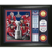 """Highland Mint 2018 Stanley Cup Champions Washington Capitals """"Banner"""" Bronze Coin Photo Mint"""