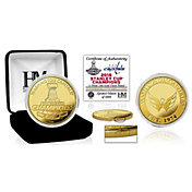 Highland Mint 2018 Stanley Cup Champions Washington Capitals Gold Mint Coin