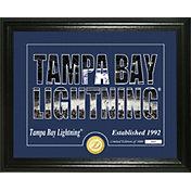 Highland Mint Tampa Bay Lightning Silhouette Photo Mint