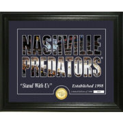 Highland Mint Nashville Predators Silhouette Photo Mint