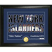 Highland Mint New York Islanders Silhouette Photo Mint