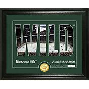 Highland Mint Minnesota Wild Silhouette Photo Mint