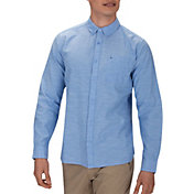 Hurley Men's One & Only 2.0 Woven Long Sleeve Shirt