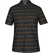 Hurley Men's Clifton Woven Short Sleeve Shirt