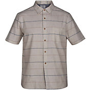 Hurley Men's Clifton Woven Short Sleeve Shirt