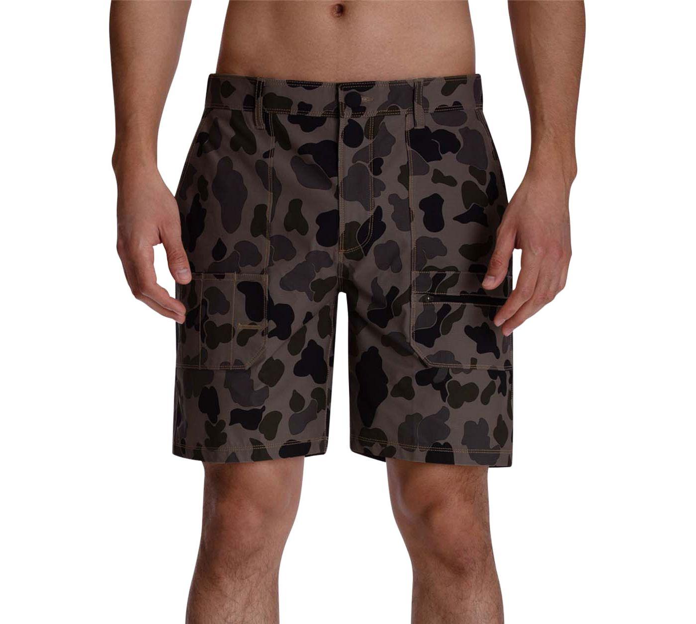 Hurley Men's Carhartt Camo Work Shorts