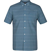 Hurley Men's Dri-FIT Rhythm Woven Short Sleeve Shirt