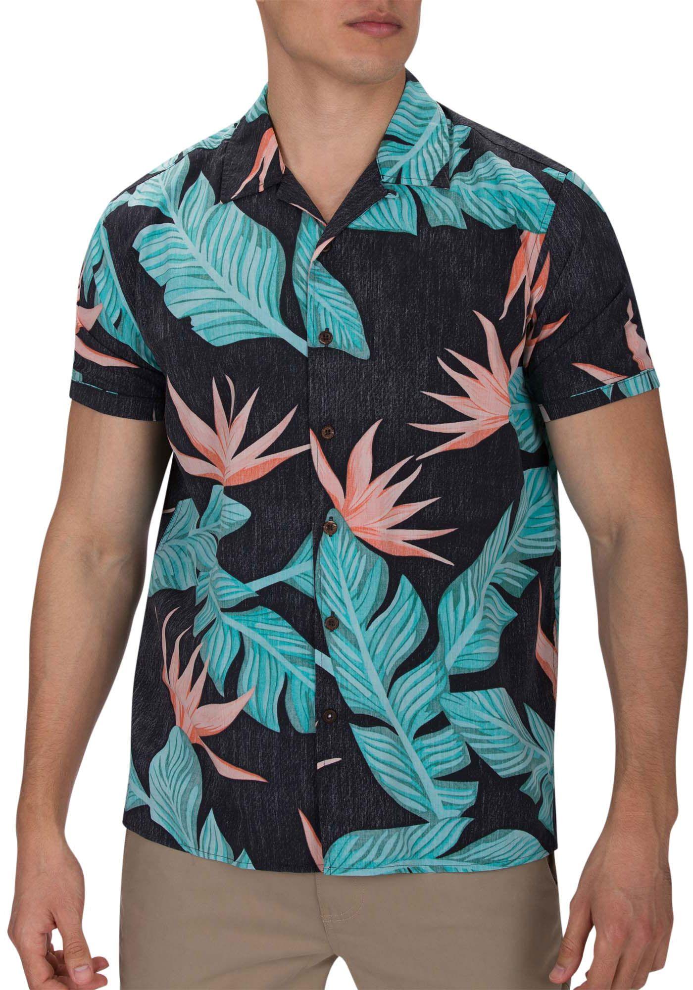 Hurley Men's Hanoi Woven Short Sleeve Shirt