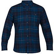 Hurley Men's Kurt Woven Long Sleeve Shirt
