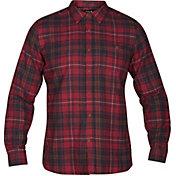 Hurley Men's Kurt Woven Long Sleeve Shirt
