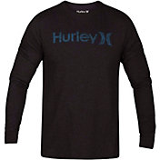 Hurley Men's One & Only Push Through Long Sleeve Shirt