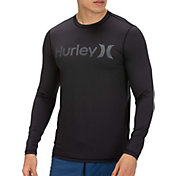 Hurley Men's O&O Long Sleeve Rash Guard