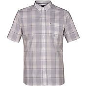 Hurley Men's Dri-FIT Castell Woven Short Sleeve Shirt