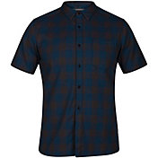 Hurley Men's Bison Woven Short Sleeve Shirt