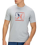 Hurley Men's Americana Short Sleeve Rash Guard