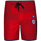 "Hurley Men's Phantom England National Team 18"" Board Shorts"