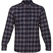 Hurley Men's Ranger Plaid Woven Long Sleeve Shirt
