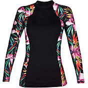 Hurley Women's Garden Long Sleeve Rash Guard