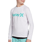 Hurley Boys' O&O Long Sleeve Rash Guard